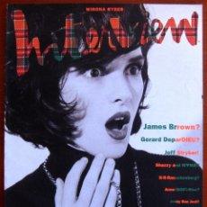 Coleccionismo de Revistas y Periódicos: REVISTA INTERVIEW AMERICANA - DICIEMBRE- DECEMBER 1990 - WINONA RYDER. Lote 58245767