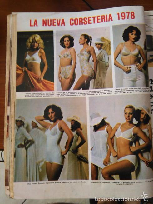 b8c4295151 RECORTE CORSETERIA ROPA INTERIOR LENCERIA FEMENINA 1978 (Coleccionismo -  Revistas y Periódicos Modernos (a ...