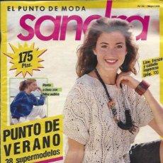 Coleccionismo de Revistas y Periódicos: REVISTA DE PUNTO - SANDRA Nº33 MAYO 1989. Lote 58304465