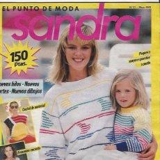 Coleccionismo de Revistas y Periódicos: REVISTA DE PUNTO - SANDRA Nº21 MAYO 1988. Lote 58304469
