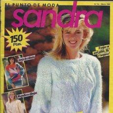 Coleccionismo de Revistas y Periódicos: REVISTA DE PUNTO - SANDRA Nº 19 MARZO 1988. Lote 58304535