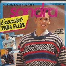 Coleccionismo de Revistas y Periódicos: REVISTA DE PUNTO - SANDRA Nº 5 ESPECIAL PARA ELLOS. Lote 58304572