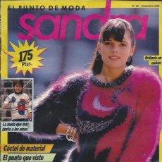Coleccionismo de Revistas y Periódicos: REVISTA DE PUNTO - SANDRA Nº 28 DICIEMBRE 1988. Lote 58304673