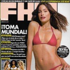 Coleccionismo de Revistas y Periódicos: REVISTA FHM Nº 75 JUNIO 2010, JESSICA ALONSO // DISPONIBLE:2. Lote 58353148