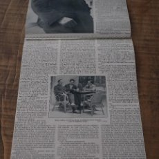 Coleccionismo de Revistas y Periódicos: ENTREVISTA DE REVISTA ORIGINAL 1915 AL ESCRITOR Y PERIODISTA VALENCIANO, VICENTE BLASCO IBAÑEZ. Lote 58373341