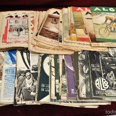 Coleccionismo de Revistas y Periódicos: IMPORTANTE LOTE DE 196 SEMINARIO ALGO. 75 PRIMEROS NUMEROS. GUERRA CIVIL. Lote 58389866