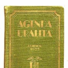 Coleccionismo de Revistas y Periódicos: URALITA 1933 AGENDA LIBRITO 11 X 16 CM. 520 PAGINAS. Lote 58397030