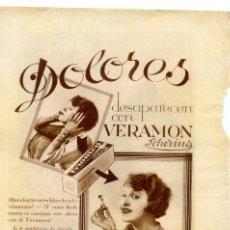 Coleccionismo de Revistas y Periódicos: VERAMON 1920 HOJA REVISTA. Lote 58405214