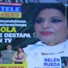 Coleccionismo de Revistas y Periódicos: LOLA FLORES SARA MONTIEL ANNE IGARTIBURU 1994 TELE INDISCRETA. Lote 58413675