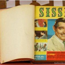Coleccionismo de Revistas y Periódicos: 7867 - REVISTA FEMENINA SISSI. 28 EJEM. EN I TOMO(VER DESCRIP). M. MARTÍN. EDI. BRUGUERA. 1958.. Lote 58425130