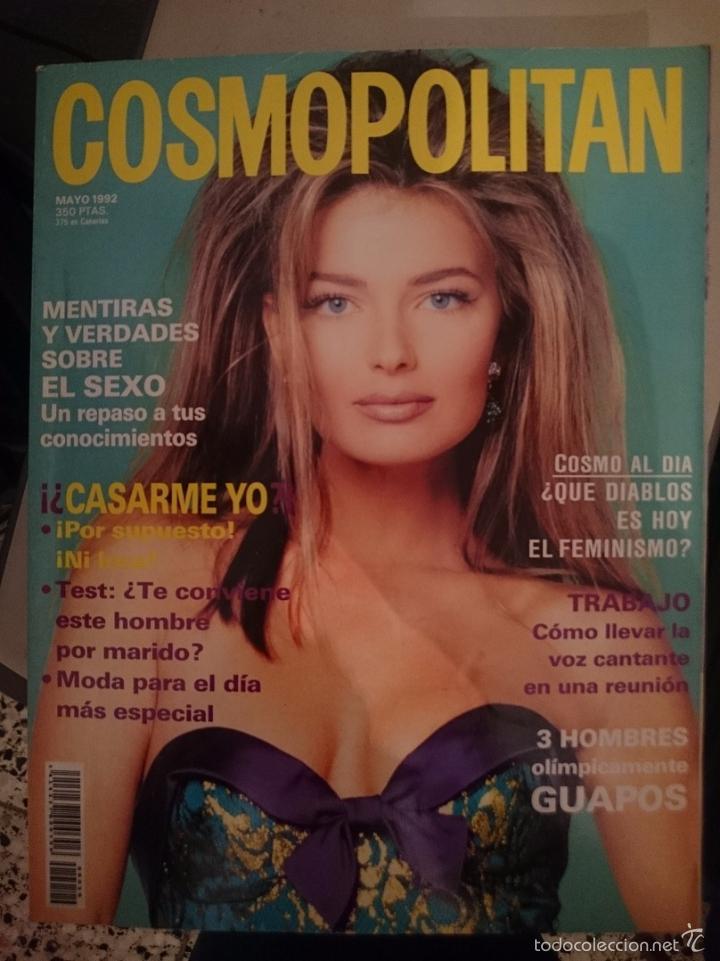COSMOPOLITAN - MAYO 1992 --REFSAMUMEESES1CE (Coleccionismo - Revistas y Periódicos Modernos (a partir de 1.940) - Otros)