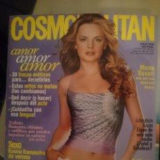 Coleccionismo de Revistas y Periódicos: COSMOPOLITAN - JULIO 2000 - CON MENA SUVARI --REFSAMUMEESES1CE. Lote 58427944