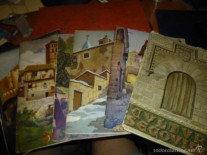 CULTURA SEGOVIANA, NUMEROS 1 - 3 - 4 - 5 - 6 - 7 DEL AÑO 1932 (Coleccionismo - Revistas y Periódicos Antiguos (hasta 1.939))
