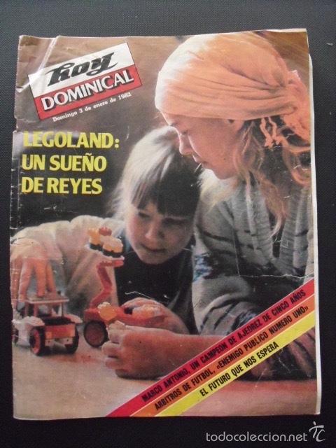 REVISTA HOY DOMINICAL. ENERO 1982. LEGOLAND. (Coleccionismo - Revistas y Periódicos Modernos (a partir de 1.940) - Otros)