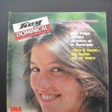 Coleccionismo de Revistas y Periódicos: REVISTA HOY DOMINICAL. SEPTIEMBRE 1981. . Lote 58441688