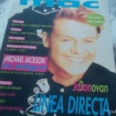 Coleccionismo de Revistas y Periódicos: MAC. SUPLEMENTO EL GRAN MUSICAL. 8. MICHAEL JACKSON, DARYL HANNAH, JOHNNY DEPP.... Lote 58462154