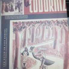 Coleccionismo de Revistas y Periódicos: REVISTA LA CODORNIZ Nº 4 DEL Nº 35 AL Nº 45 AÑO 1942 EDIT AGUALARGA. Lote 58465670