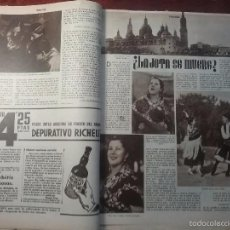 Coleccionismo de Revistas y Periódicos - RE VISTA 1934.LA JOTA SE MUERE?? LOS MINEROS DE PALENCIA Y LEÓN. REVOLUCIÓN CATALUÑA - 83760223