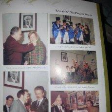 Coleccionismo de Revistas y Periódicos: HOJA REVISTA FLAMENCO MARIBEL GONZALEZ PEPE BENITEZ CAMARON DE LA ISLA JUAN CARLOS JURADO.... Lote 58488564