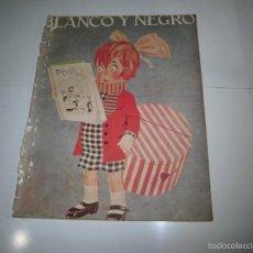 Coleccionismo de Revistas y Periódicos: PORTADA DEL BLANCO Y NEGRO/PHOSCAO HOJA DE REVISTA BLANCO Y NEGRO 1922 . Lote 58488640