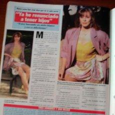 Coleccionismo de Revistas y Periódicos: RECORTE MARIA LUISA SAN JOSE . Lote 58499928
