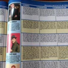 Coleccionismo de Revistas y Periódicos: RECORTE BEN KINGSLEY STACEY KEACH RIVER PHOENIX. Lote 58516374