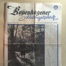 Coleccionismo de Revistas y Periódicos: SEGUNDA GUERRA MUNDIAL. DIARIO ALEMÁN. ROPENHAGENER. AÑO 1941.. Lote 58523558