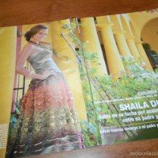 Coleccionismo de Revistas y Periódicos: RECORTE DE PRENSA 2009: SHAILA DURCAL. Lote 58526452
