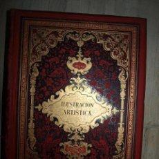 Coleccionismo de Revistas y Periódicos: LA ILUSTRACIÓN ARTÍSTICA 1889 -1890. DEL NÚMERO 366 AL 443. MONTANER Y SIMÓN . Lote 58556722