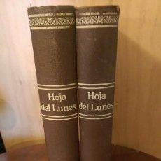 Coleccionismo de Revistas y Periódicos: HOJA DEL LUNES (BARCELONA) DEL 13 DE MAYO DE 1940 AL 29 DE OCTUBRE DE 1945. Lote 58560431
