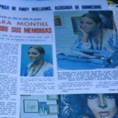 Coleccionismo de Revistas y Periódicos: RECORTES REPORTAJE HOJAS SARA MONTIEL LECTURAS 3. Lote 58626229