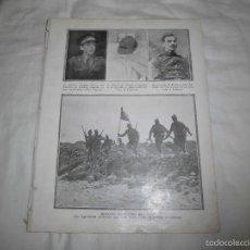 Coleccionismo de Revistas y Periódicos: MELILLA OCUPACION DE CHAIF LOS LEGIONARIOS ASLATANDO UNA CASA MO HOJA DE REVISTA BLANCO Y NEGRO 1922. Lote 58640697
