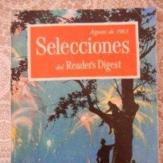 Coleccionismo de Revistas y Periódicos: SELECCIONES DEL READER'S DIGEST - AGOSTO DE 1963. Lote 58649705