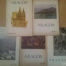Coleccionismo de Revistas y Periódicos: REVISTA ARAGÓN Y REVISTA TURISMO ZARAGOZA. Lote 58665950