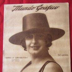 Coleccionismo de Revistas y Periódicos: REVISTA MUNDO GRÁFICO 15/8/1923. Lote 58673734
