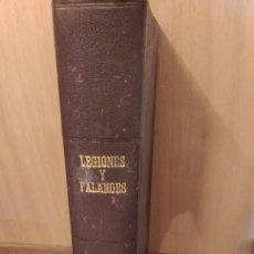 Coleccionismo de Revistas y Periódicos: REVISTA LEGIONES Y FALANGES 1940-43. Lote 58691169