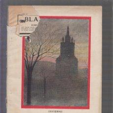 Coleccionismo de Revistas y Periódicos: REVISTA BLANCO Y NEGRO - 6 DE MARZO 1927. Lote 58745252