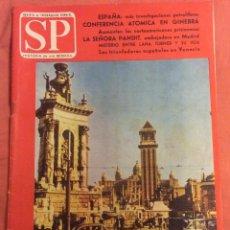 Coleccionismo de Revistas y Periódicos: REVISTA SP. N° 61. BARCELONA: SIEMPRE BONA. 6 JULIO 1958. Lote 58764082