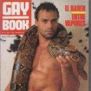 Coleccionismo de Revistas y Periódicos: GAY BOOK Nº 12 - REVISTA GAY AÑOS 90 M46. Lote 167170405