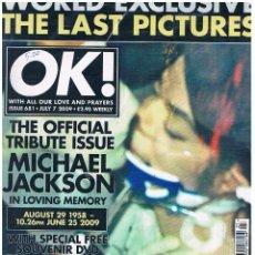 Coleccionismo de Revistas y Periódicos: REVISTA OK - MICHAEL JACKSON. Lote 58780026
