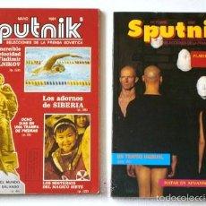 Coleccionismo de Revistas y Periódicos: SPUTNIK (SELECCIONES DE LA PRENSA SOVIÉTICA) 2 REVISTAS DE AGENCIA DE PRENSA NÓVOSTI. Lote 23425881