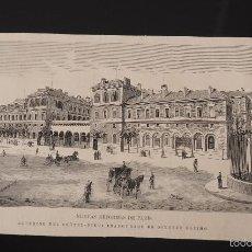 Coleccionismo de Revistas y Periódicos: GRABADO REVISTA ORIGINAL SIGLO XIX. HOTEL DIEU DE PARIS. Lote 59000925