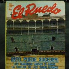 Coleccionismo de Revistas y Periódicos: REVISTA EL RUEDO N.º 1694 - 18 ENERO 1977 - ESTO PUEDE SUCEDER LOS TENDIDOS VACIOS. Lote 105868702