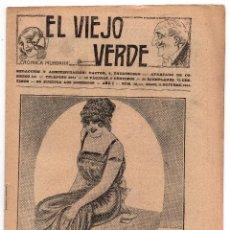 Coleccionismo de Revistas y Periódicos: EL VIEJO VERDE - AÑO I - NUMERO 16. Lote 59161570