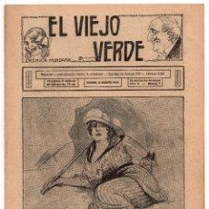 Coleccionismo de Revistas y Periódicos: EL VIEJO VERDE - AÑO I - NUMERO 7. Lote 59164310