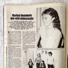 Coleccionismo de Revistas y Periódicos: REPORTAJE - MARISOL - 1982. Lote 59166155