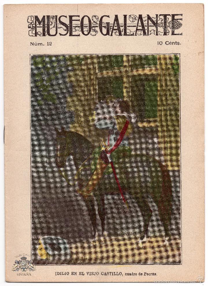 MUSEO GALANTE - NUMERO 12 (Coleccionismo - Revistas y Periódicos Antiguos (hasta 1.939))