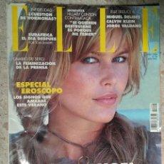Coleccionismo de Revistas y Periódicos: REVISTA ELLE Nº 94 JULIO 1994 PORTADA: CLAUDIA SCHIFFER. Lote 59175275