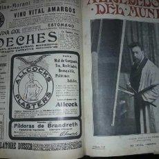 Coleccionismo de Revistas y Periódicos: TRES TOMOS REVISTA ANTIGUA ALREDEDOR DEL MUNDO 1899. Lote 59509039