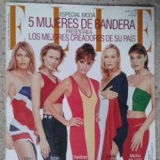 Coleccionismo de Revistas y Periódicos: REVISTA ELLE Nº 138 MARZO 1998 PORTADA: PENÉLOPE CRUZ, MONICA BELUCCI, PATSY KENSIT.... Lote 59543043